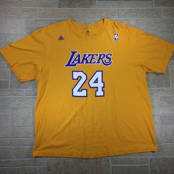 Los Angeles Lakers NBA  24 Bryant Shirt Men s 2XL 632a5b773